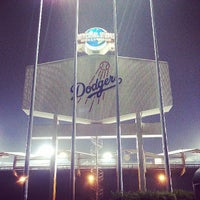Photo taken at Dodger Stadium by Ermek Z. on 6/11/2013