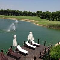 Photo taken at Sueno Hotels Golf by Çiğdem Ö. on 7/1/2013