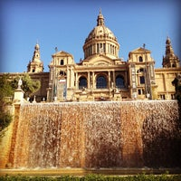 Photo taken at Museu Nacional d'Art de Catalunya (MNAC) by Salem AlDossry🎒 on 5/4/2013