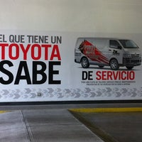 Photo taken at Ciudad Toyota by Daniel A. on 5/17/2012