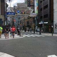 Photo taken at 道頓堀2丁目商店街 by tenstones0327 on 9/3/2017