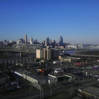 Photo taken at Radisson Hotel Cincinnati Riverfront by Breanna P. on 3/22/2013