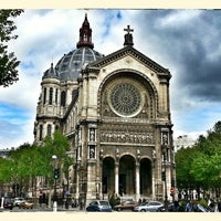 Photo taken at Église Saint-Augustin by Oleg K. on 5/12/2013