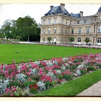 Photo taken at Luxembourg Garden by Oleg K. on 5/14/2013