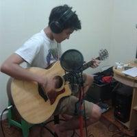 Photo taken at Pejuang Mimpi Recording Studio by Vicki on 7/18/2014