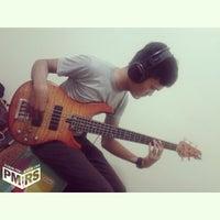 Photo taken at Pejuang Mimpi Recording Studio by Vicki on 7/11/2014