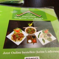 Das Foto wurde bei AROYDEE Thai Küche von David am 5/24/2013 aufgenommen