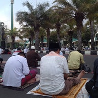 Photo taken at Masjid Jami' Al-Baitul Amien Jember by nofearbyu on 9/23/2015