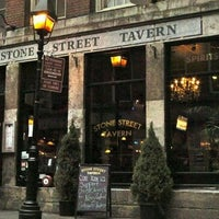 Photo taken at Stone Street Tavern by John O. on 1/23/2015