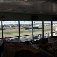 Photo taken at Meadowlands Racing & Entertainment by John O. on 10/28/2013