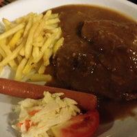Photo taken at Salmon Steak Restaurant by Ivan L. on 3/3/2013