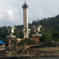 Photo taken at Tugu Trikora by IKADEKDENY S. on 10/8/2013