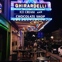 Photo taken at Ghirardelli Ice Cream & Chocolate Shop by Martin A. on 10/1/2012