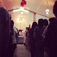 Photo taken at Sto. Cristo Chapel by Aries D. on 12/16/2012