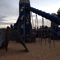 Photo taken at פארק ד' by Evgenya S. on 11/22/2013