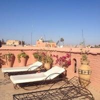 Photo taken at Riad El Faris by Irene N. on 6/21/2014