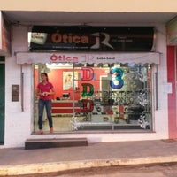 Photo taken at Ótica JR by Jussy R. on 11/24/2014