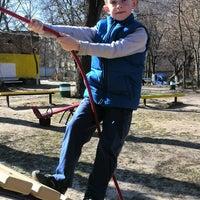 Photo taken at детская площадка by Kira O. on 3/22/2014