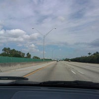 Photo taken at I-95 at Sample Road by Valerie s. on 10/27/2013