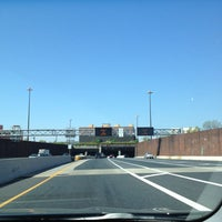 Photo taken at Fort McHenry Tunnel by Tony M. on 4/27/2013