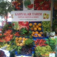 Photo taken at Kahyalar Tarım Ürünleri by Mertcan Y. on 6/21/2013