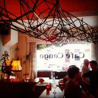 Photo taken at Café Congo by Carmen R. on 5/22/2014