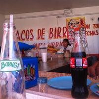 Photo taken at Tacos De Birria by Rugbier C. on 7/9/2013