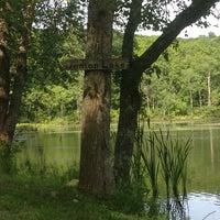 Photo taken at Denton Lake by Laurel F. on 7/31/2013