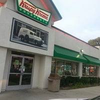 Photo taken at Krispy Kreme Doughnuts by Goktug A. on 5/22/2013