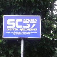 Photo taken at SC 37 Studio by Aditya M. on 10/6/2012