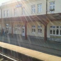 Photo taken at Železniční stanice Svitavy by Marta F. on 3/17/2013