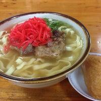 Photo taken at 沖縄の味 アワセそば食堂 by Kei Y. on 1/30/2014