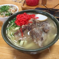 Photo taken at 沖縄の味 アワセそば食堂 by Kei Y. on 10/17/2016