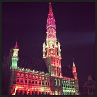 Photo taken at Grand Place by Steven R. on 3/30/2013