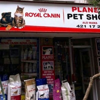 Photo taken at Planet Pet Shop 49/B Talatpaşa Alsancak by Şennur K. on 5/20/2013