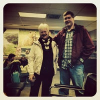 Photo taken at Kodiak Airport (ADQ) by Stephen P. on 1/21/2014