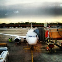 Photo taken at Berlin Tegel Otto Lilienthal Airport (TXL) by Philip S. on 5/12/2013