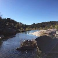 Photo taken at Devils Waterhole by Matt R. on 11/21/2015