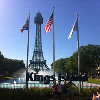 Photo taken at Kings Island by Patrick H. on 7/28/2013
