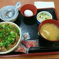Photo taken at すき家 イオン品川シーサイド店 by Yu I. on 9/1/2016