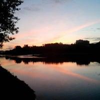 Photo taken at Люблинский пруд by Дмитрий on 5/22/2013