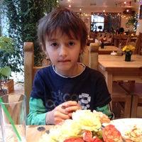 Photo taken at Woody's Cafe by Ömür B. on 12/16/2015