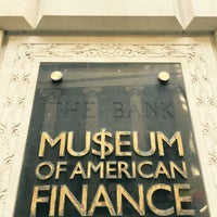 Photo taken at Museum of American Finance by Constantine V. on 3/12/2016