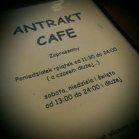 Photo taken at Cafe Antrakt by Боян С. on 11/2/2016