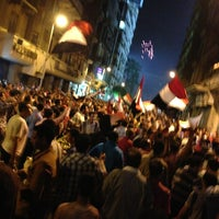 Photo taken at Tahrir Square by DoDh I. on 7/3/2013