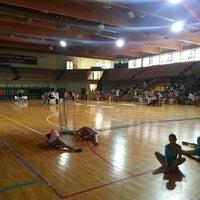 Photo taken at Palasport Fontescodella by Andrea P. on 7/6/2014
