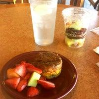 Photo taken at Paradise Bakery & Cafe by Aesha I. on 10/31/2013