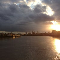 Photo taken at Canary Wharf Pier by Yulia A. on 6/24/2013