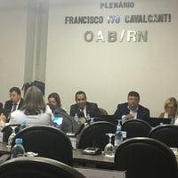 Photo taken at Ordem dos Advogados do Brasil (OAB/RN) by Canindé M. on 12/8/2016