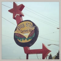 Photo taken at Big Star Drive-In by Sarah F. on 5/19/2013
